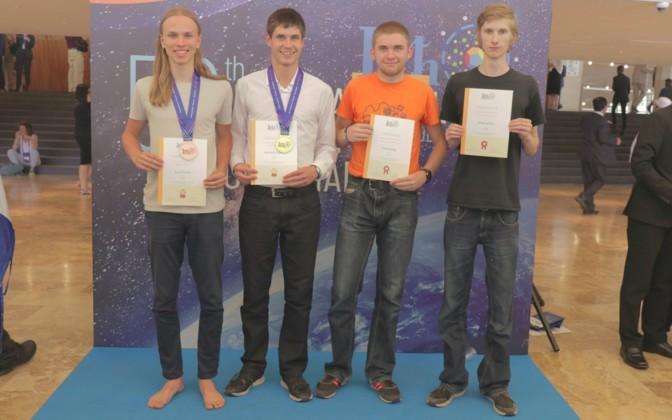 Kaarel Kivisalu, Konstatin Dukatš, Hannes Kuslap ja Urmas Luhaäär. Autor/allikas: Mihkel Kree